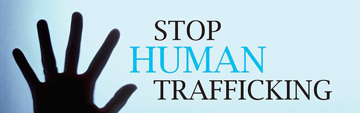 Click to learn more about Human Trafficking